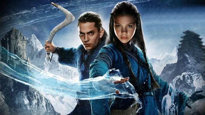 Imagen de la película de Avatar con Soka y Katara