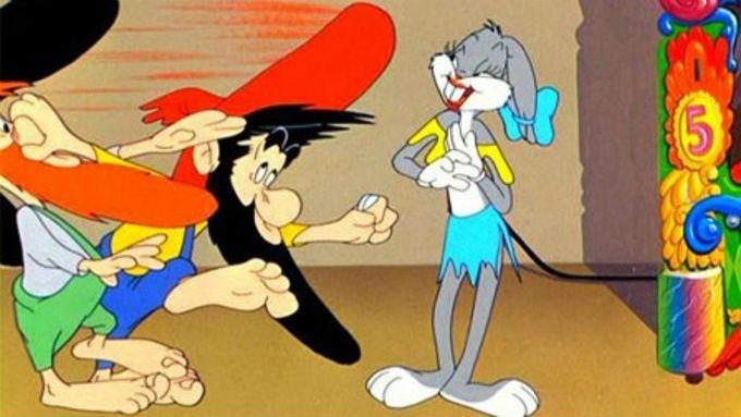 Capítulo de Bugs Bunny donde asume una personalidad trans