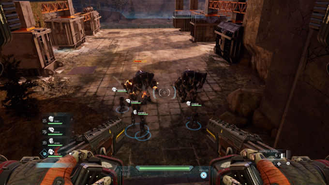 Imagen del manejo de unidades en Disintegration