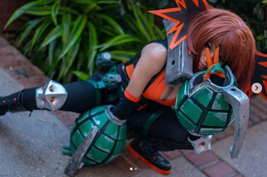 My Hero Academia: Así se ven Uraraka y Bakugo en un mismo cosplay