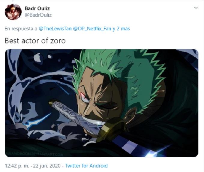 Imagen de Zoro en One Piece