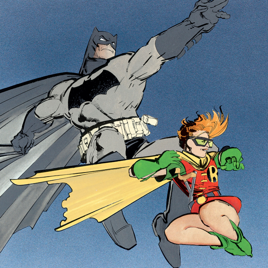Carrie Kelley Robin Snyder Cut Justice League