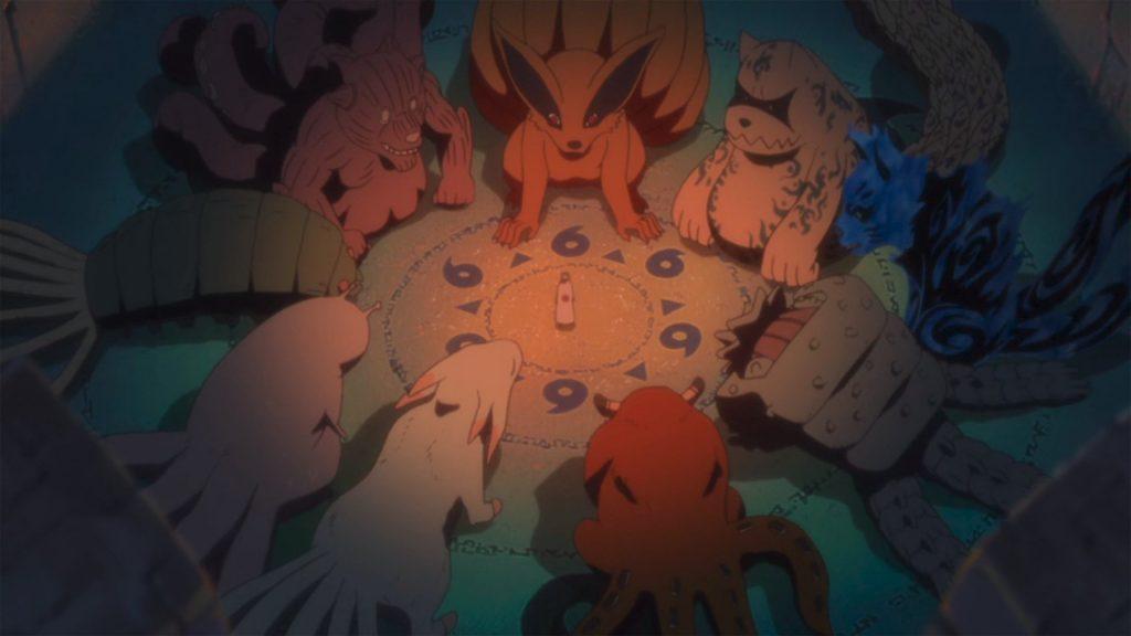 Bestias con cola, Naruto, juubi