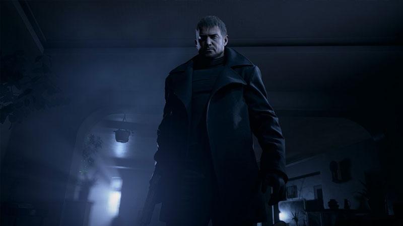 Chris Redfield Resident Evil 8