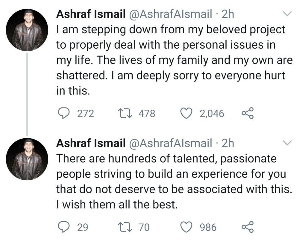 Ashraf Ismail Valhalla