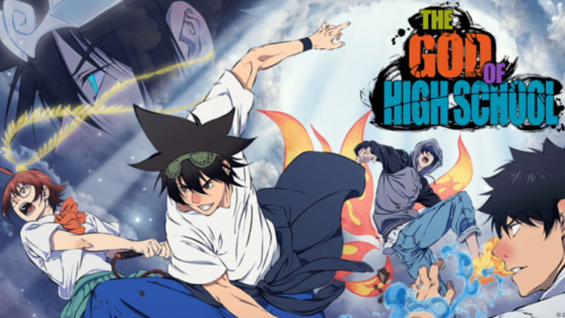 The God of High School, un nuevo anime que promete mucha acción ...