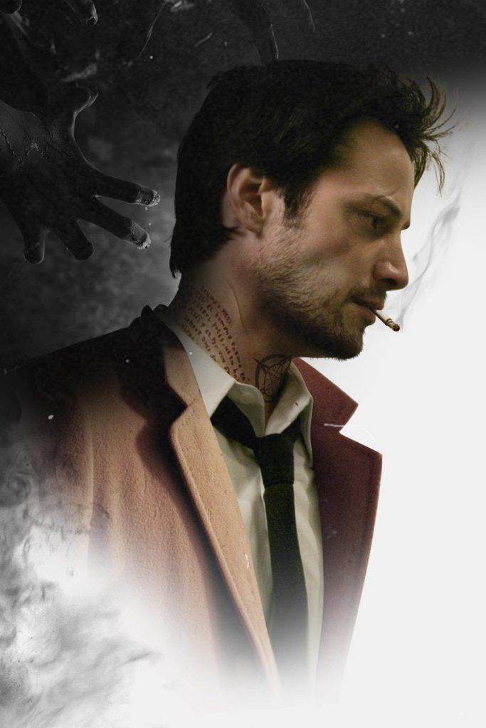Keanu Reeves como John Constantine.