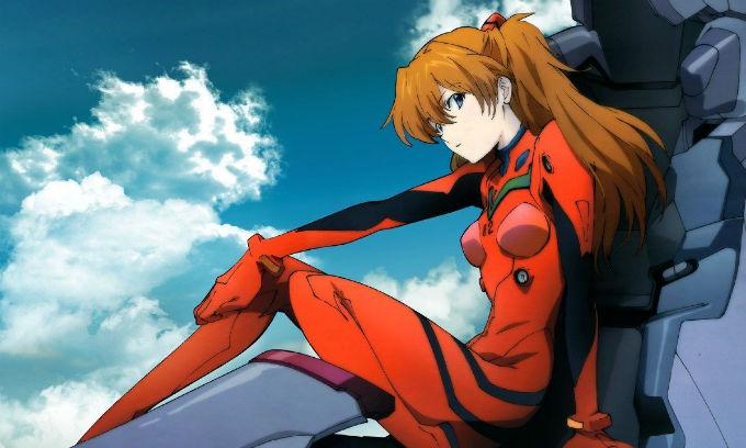 Asuka de Evangelion