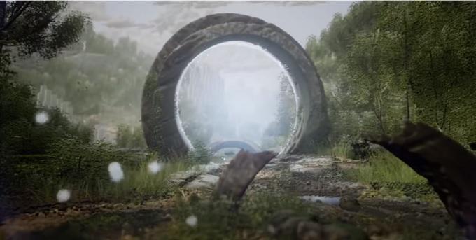 Pantalla de Halo en Dreams de PlayStation