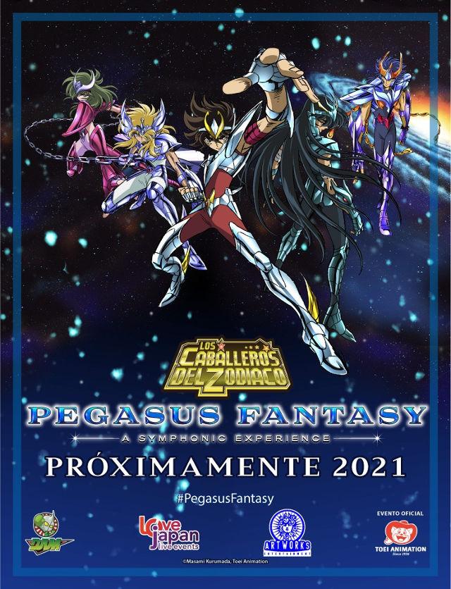 El concierto de Los Caballeros del Zodiaco se va al 2021
