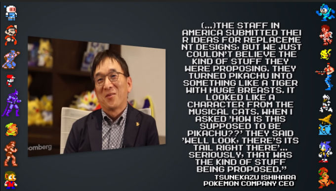 Entrevista con Tsunekazu Ishihara CEO de Pokemon sobre Pikachu con pechos