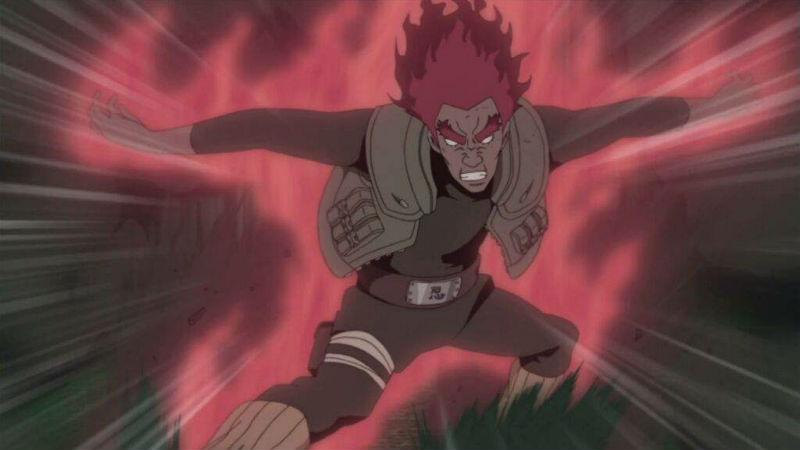 Ocho puertas Naruto