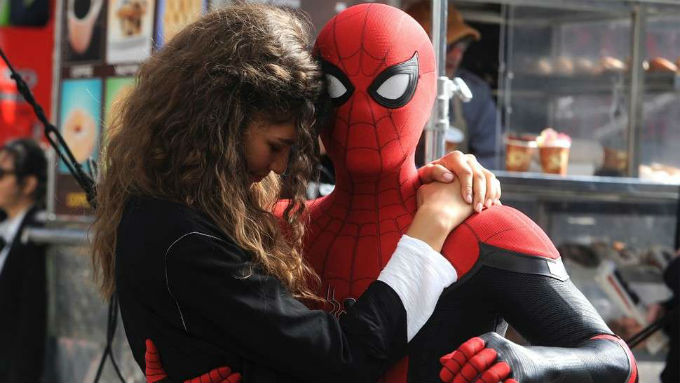 Spider-Man de Tom Holland con Zendaya