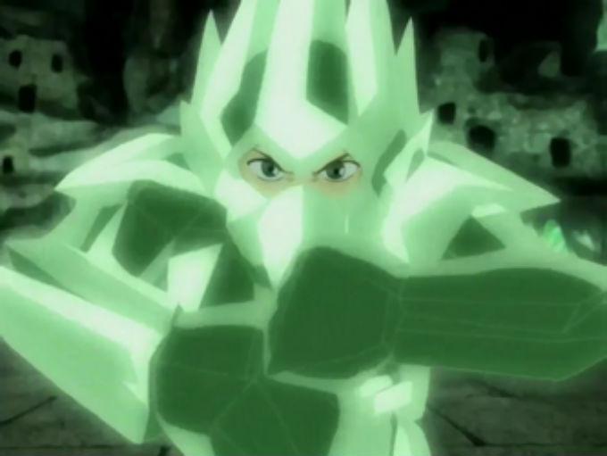 Armadura de Cristal de Aang en Avatar