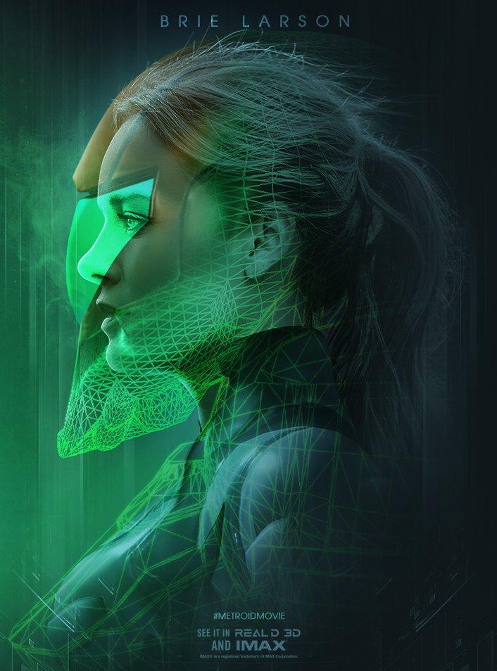 Bosslogic Samus Aran Metroid Brie Larson
