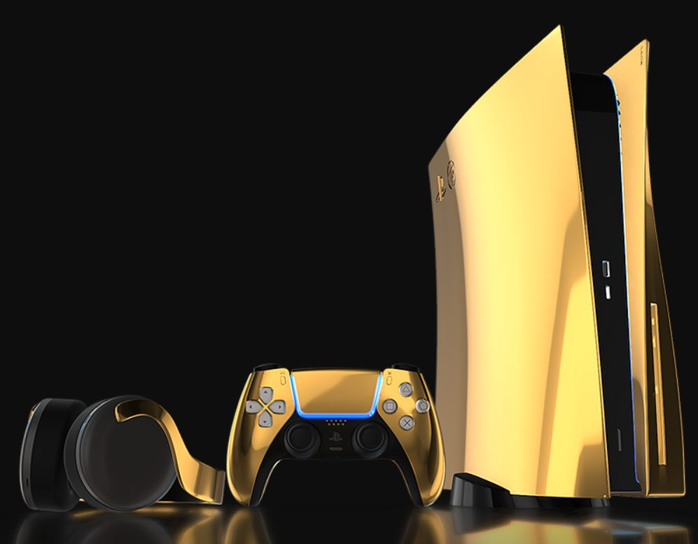 PS5 24K oro