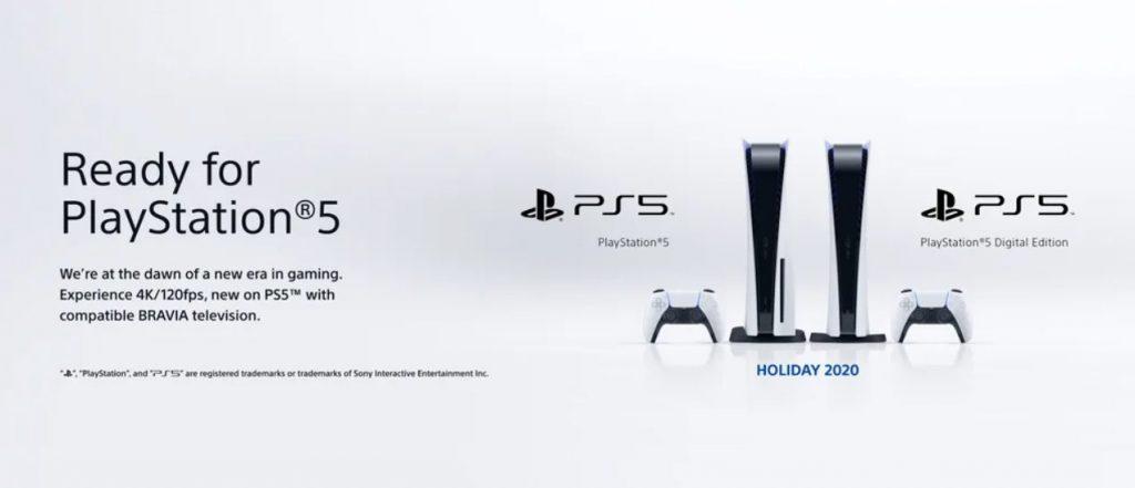 Sony BRAVIA para PS5.