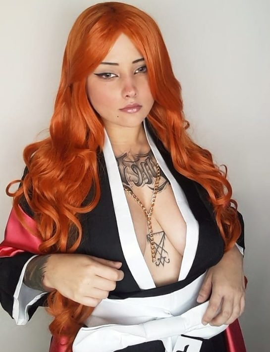 Rangiku Bleach Cosplay