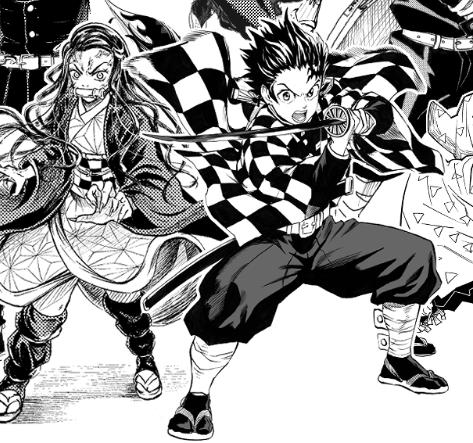 Kimetsu no Yaiba al estilo One Punch Man.