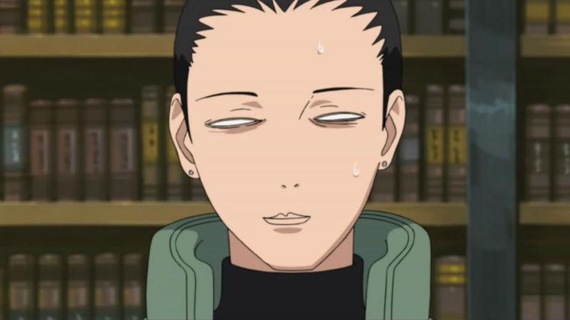 Shikamaru en Naruto