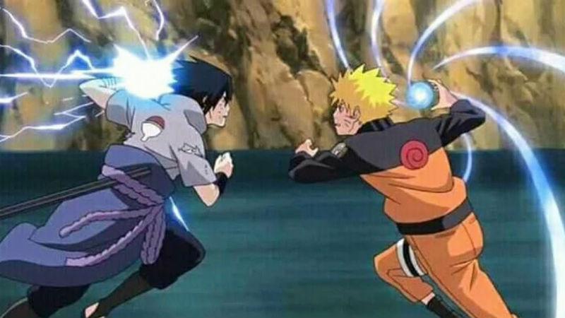 Naruto y Sasuske Jutsu