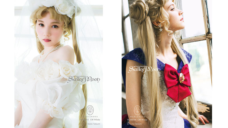 Sailor Moon vestidos