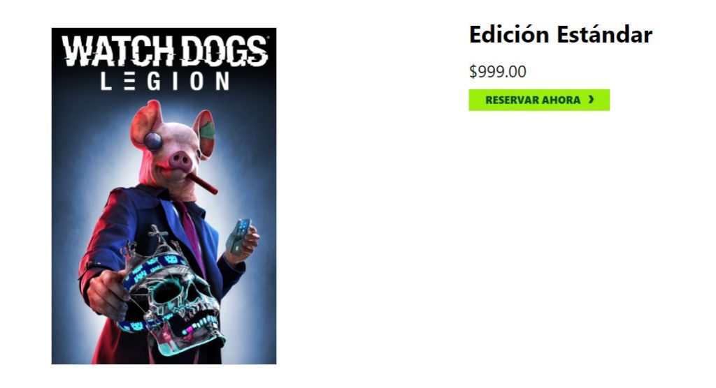 Precio en Xbox de Watch Dogs: Legion