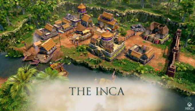 Incas en Age of Empires III Definitive Edition