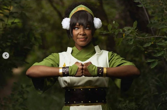 Toph Beifong de Avatar: La leyenda de Aang consigue otro cosplay