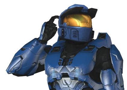 Spartan de Halo Confundido