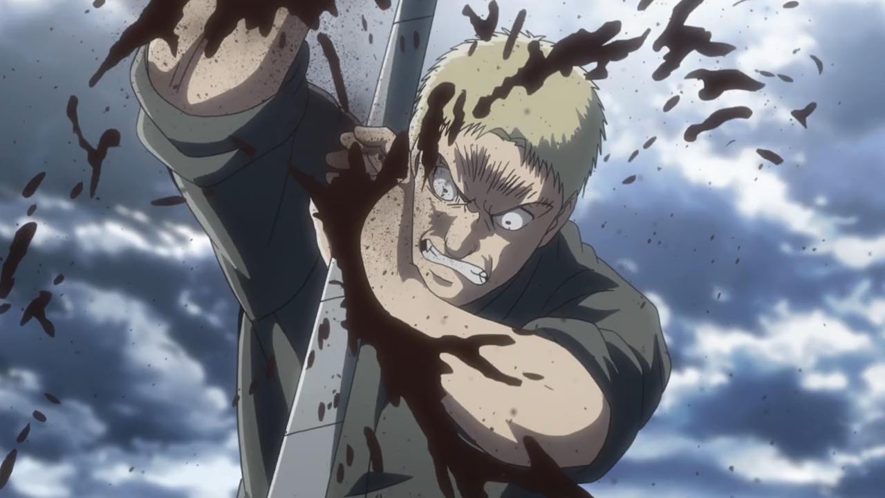 Attack on titan test cortado