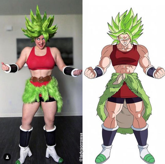 Dragon Ball Super: Kale consigue un cosplay muy muscular