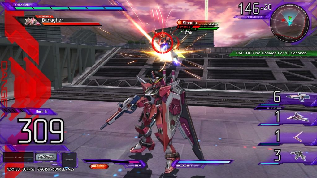 Mobile Suit Gundam: Extreme Vs Maxi Boost On.