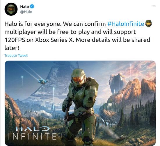 Halo Infinite sí tendrá multijugador gratuito
