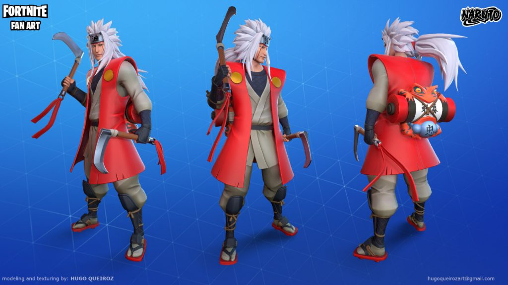 Jiraiya en Fortnite