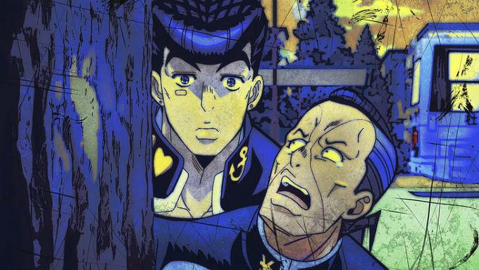 Josuke de Jojos y Nijimura en GTA