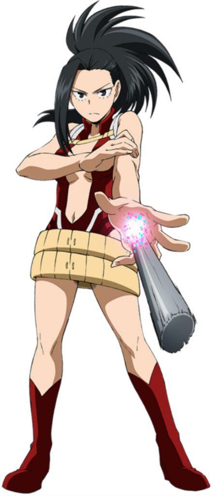 Momo Yaoyorozu de My Hero Academia cuerpo completo