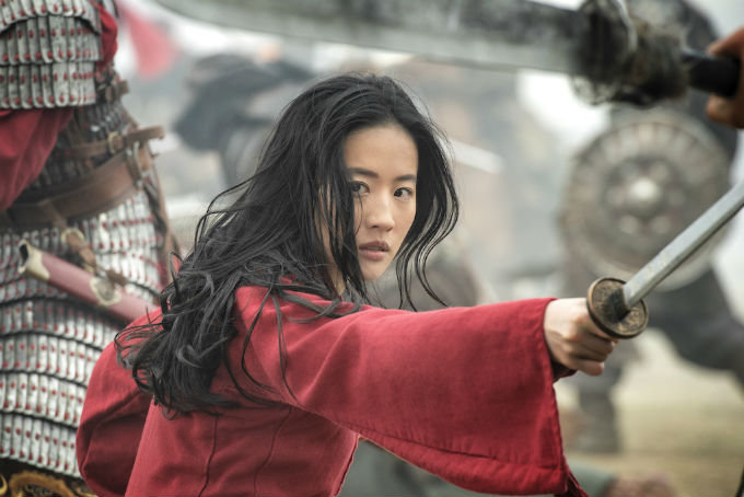Imagen de la película de Mulan que llegara a Disney