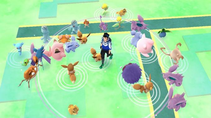 Pokemon Go imagen del juego en celulares