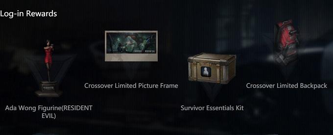 Recompensas del crossover de LifeAfter con Resident Evil