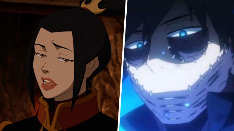 Azula Dabi My Hero Academia Avatar