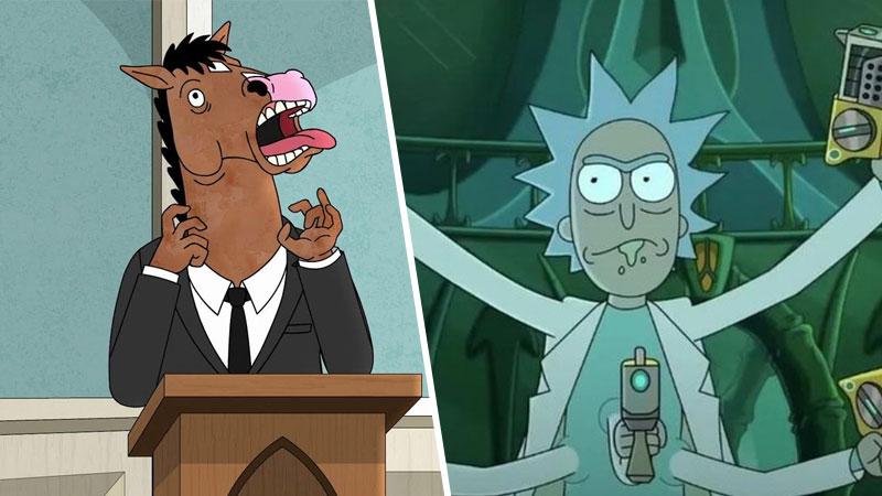 Bojack Horseman Rick y Morty