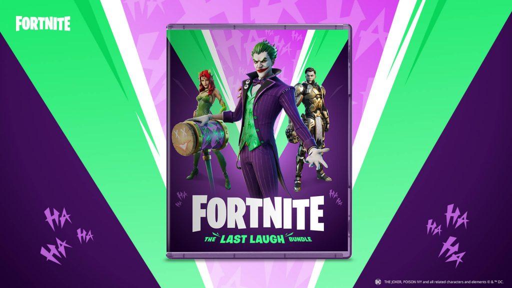 Fortnite, La ultima risa bundle, Joker.