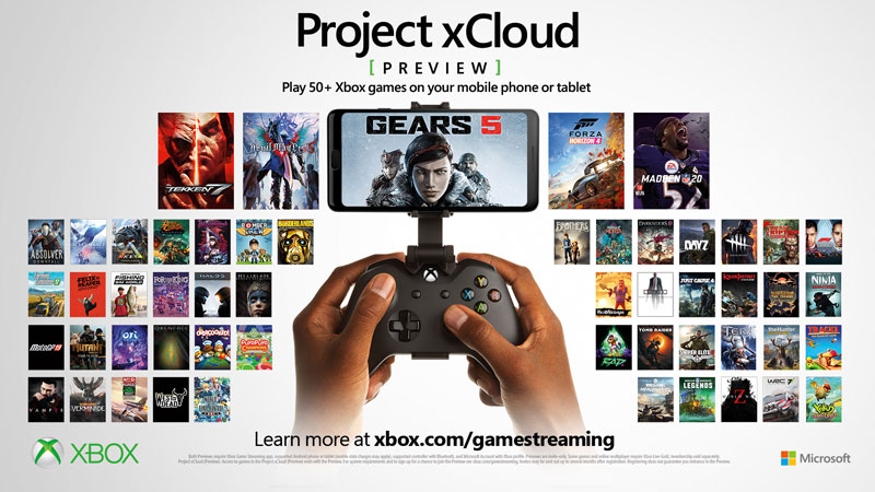 Project xcloud Xbox Game Pass
