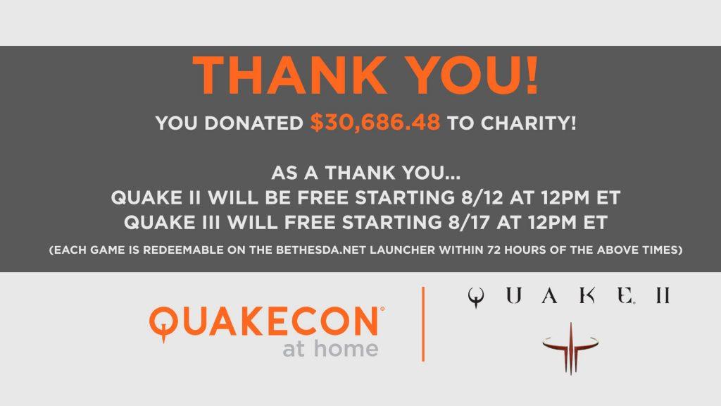 Quakecon at Home Gracias Quake II