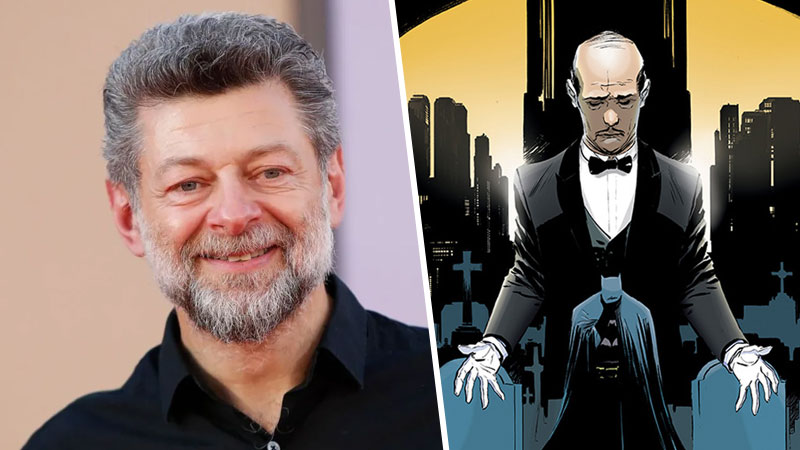 Andy Serkis Alfred Pennyworth