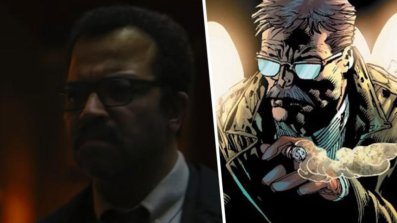The Batman: Jeffrey Wright James Gordon