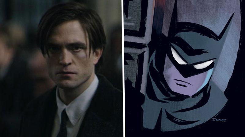 Robert Pattinson como Bruce Wayne/Batman
