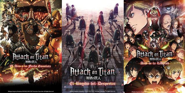 Las películas de Attack on Titan se estrenarán en México