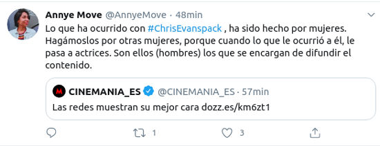 Los fans de Chris Evans salieron en defensa del actor